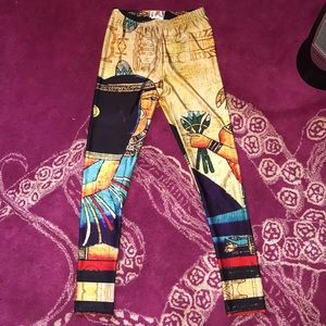Lotus leggings Cleopatra size small